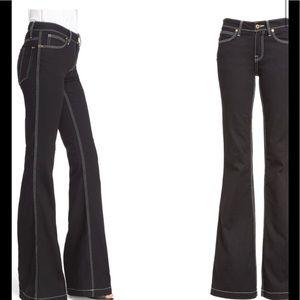 BURBERRY, Flare Stretch Denim Jeans